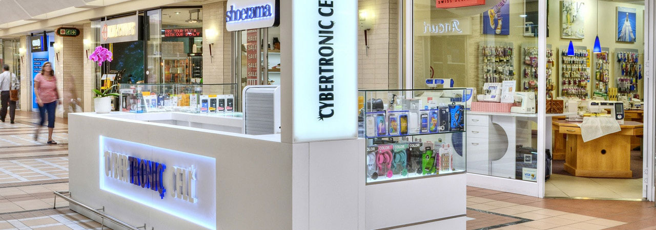 Retail Displays, Mall Kiosks & Display Cabinets | Scan Retail
