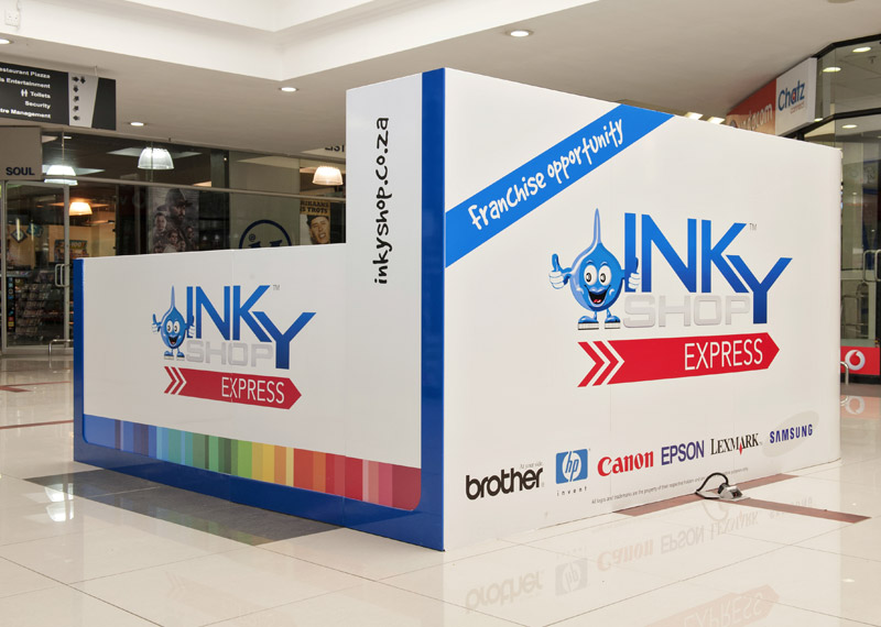 Shopping Kiosks-The-Inky-Shop-Activation