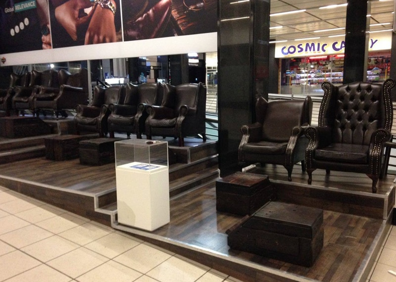 Leres Shoe Shine Brand Activation Leather Amp Wood Design
