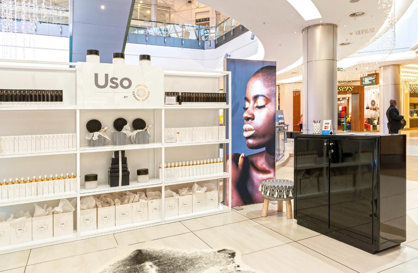 bespoke-retail-displays-for african-dermal-science-by-scanretail Science